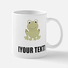 Cartoon Frog Personalize It! Mugs
