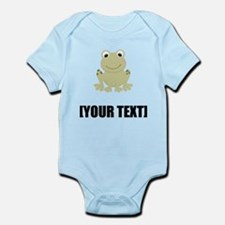 Cartoon Frog Personalize It! Body Suit