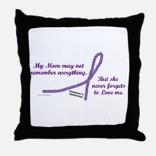 Never Forgets To Love (Mom) Throw Pillow