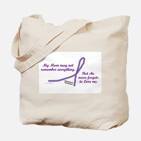 Never Forgets To Love (Mom) Tote Bag