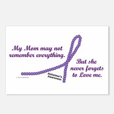 Never Forgets To Love (Mom) Postcards (Package of