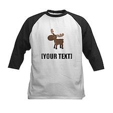 Cartoon Moose Personalize It! Baseball Jersey