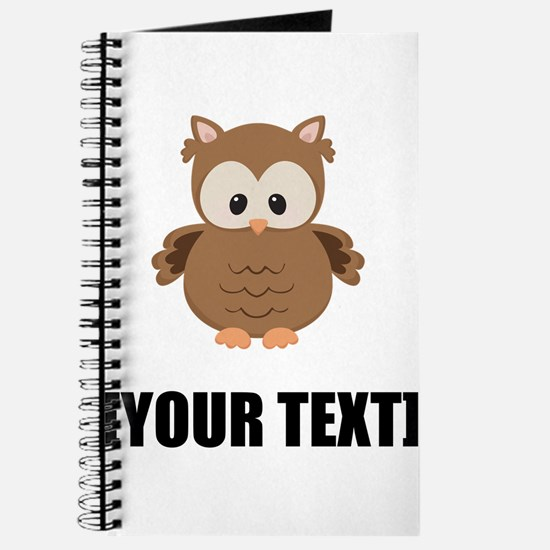 Cartoon Owl Personalize It! Journal