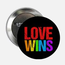 "Love Wins 2.25"" Button"