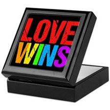 Love Wins Keepsake Box