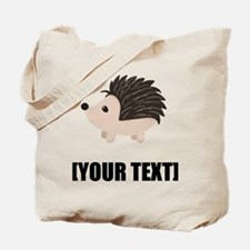 Cartoon Porcupine Personalize It! Tote Bag