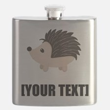 Cartoon Porcupine Personalize It! Flask