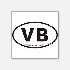 "Cute Vb Square Sticker 3"" x 3"""