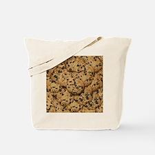 Chocolate Chop Cookie Pattern Tote Bag