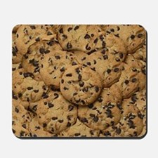 Chocolate Chop Cookie Pattern Mousepad