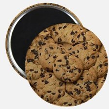 Chocolate Chop Cookie Pattern Magnet