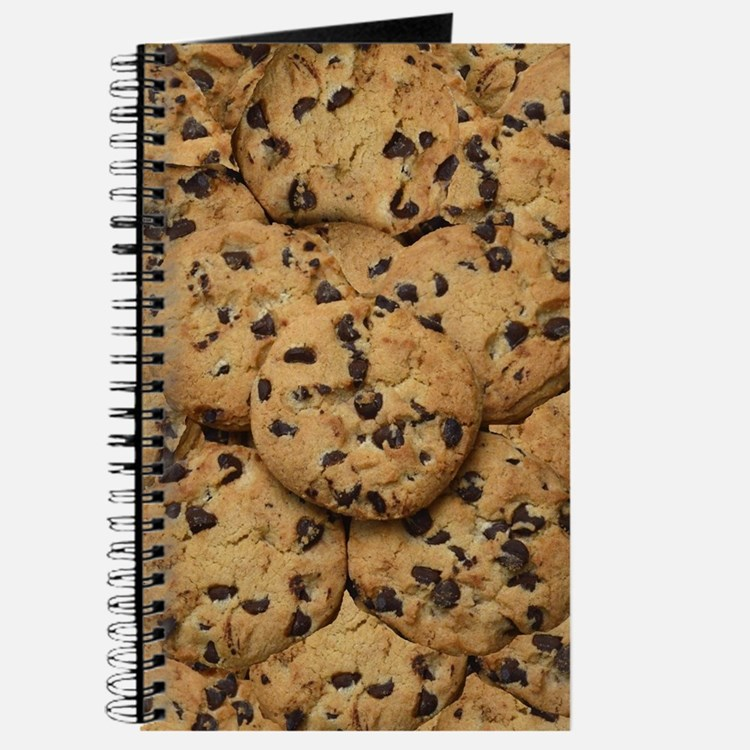Chocolate Chop Cookie Pattern Journal