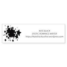 Kate_Black Bumper Bumper Stickers