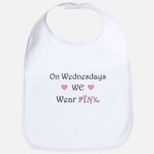 On Wednesdays we wear Pink Bib