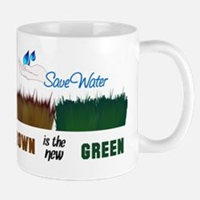 Brown is the New Green Mug