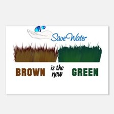 Brown is the New Green Postcards (Package of 8)