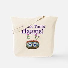 Hoots Toots Haggis Tote Bag