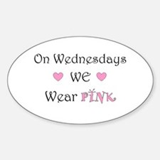 On Wednesdays we wear Pink Decal