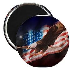 Unique American eagle Magnet