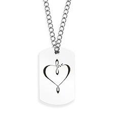Love heart Dog Tags