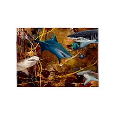 Sharks 5'x7'Area Rug