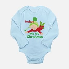 Christmas Custom Long Sleeve Infant Bodysuit