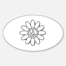 Daisy peace Decal