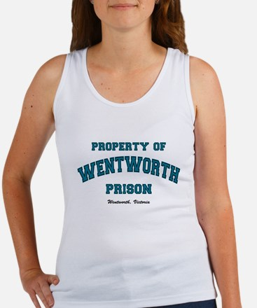 Property of Wentworth Women's Tank Top