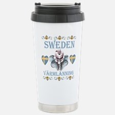 Unique Sweden Travel Mug