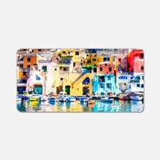 Naples Italy Aluminum License Plate