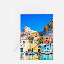 Naples Italy Greeting Cards