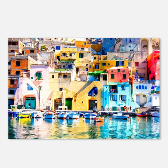 Naples Italy Postcards (Package of 8)