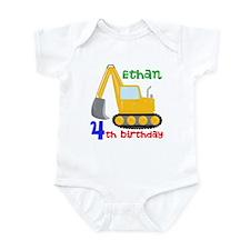 Bulldozer Custom Infant Bodysuit