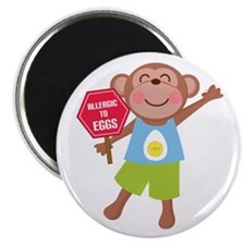 "Egg Allergy 2.25"" Magnet (10 pack)"