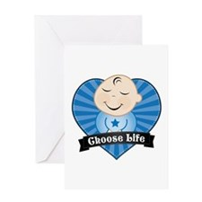 Choose Pro-Life Greeting Card