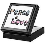 Peace and Love Keepsake Box