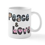 Peace and Love Mug