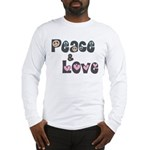 Peace and Love Long Sleeve T-Shirt