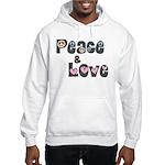 Peace and Love Hoodie (Sweatshirt)