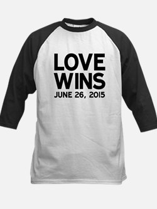 Love Wins Baseball Jersey