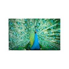 Beautiful Peacock Area Rug