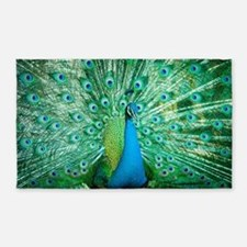 Beautiful Peacock Area Rug