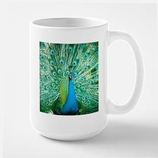 Beautiful Peacock Mugs