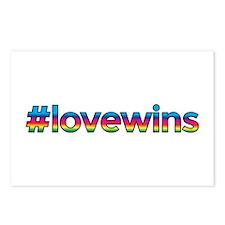 #lovewins Postcards (Package of 8)