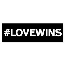 #LOVEWINS Bumper Bumper Sticker