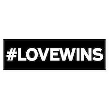 #LOVEWINS Bumper Car Sticker