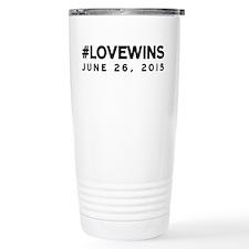 #LOVEWINS Travel Mug