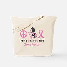 Ladybug Pro-Life Tote Bag
