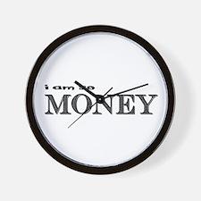 i am so money Wall Clock