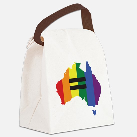 LGBT equality Australia Canvas Lunch Bag